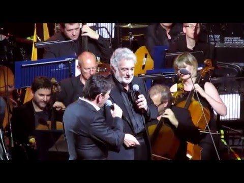 Placido Domingo & son Placido Jnr duet & Jonathan Antoine iTunes Festival 30 Sept 2014 - YouTube