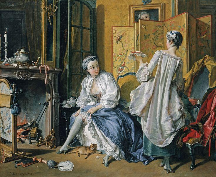 François Boucher, Toilette, 1742