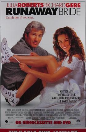Fun movie.: Film, Movies Tv, Runaway Bride, Julia Roberts, Brides, Bride 1999, Favorite Movies, Richard Gere