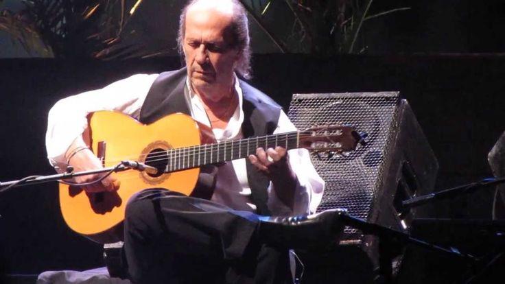 Paco de Lucia - Entre dos aguas - último concierto / last concert (Chile...