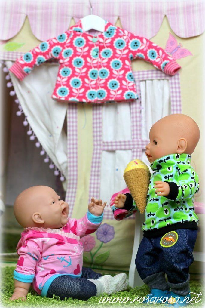 Ebook Puppenliebe ♥ 9 Schnittmuster für Puppen …