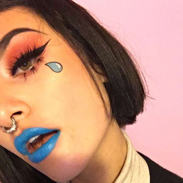 sextvpe - Venus Palette - Lime Crime  Crybaby Lipstick - Lime Crime  #crybaby #limecrime #venuspalette