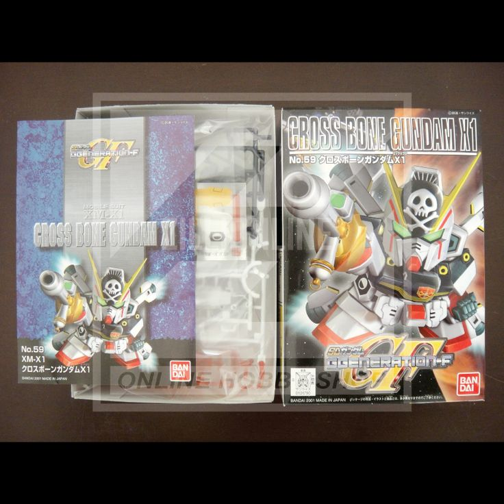 [MODEL-KIT] NON-SCALE - SD BB CROSS-BONE GUNDAM X1. Item Size/Weight : 19.1 x 13.1 x 4.8 cm / 92g. (*ITEM SIZE & WEIGHT BEFORE PACKAGED). Condition: MINT / NEW & SEALED RUNNER. Made by BANDAI.
