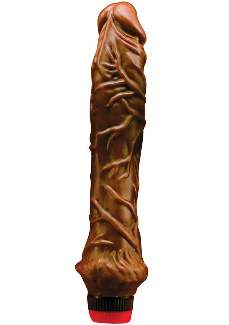 Buy Jelly Chocolate Dream No 3 Vibrator 9.75 Inch Brown online cheap. SALE! $25.99