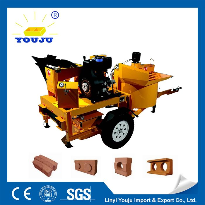 model:m7mi clay block making machine