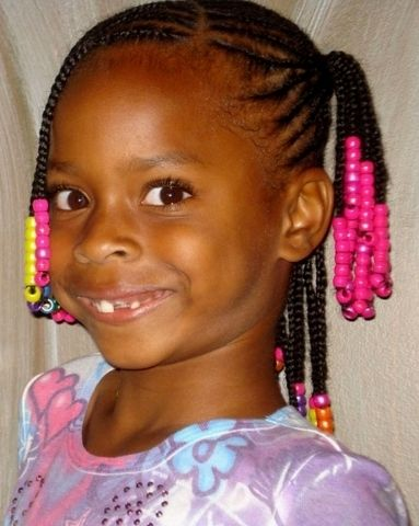 Cute Curly Hairstyles For Black Girls HD Images
