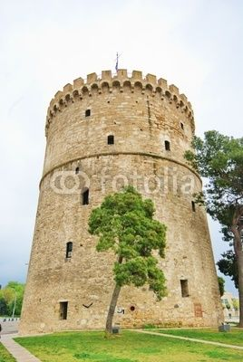 White Tower of Thessaloníki is a monument and museum on the waterfront of the city of Thessaloniki, capital of the region of Macedonia in northern Greece and a symbol of Greek sovereignty over Macedonia
