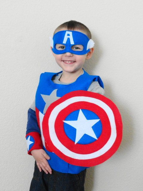 Child's Super Hero Costume on Etsy, $50.00