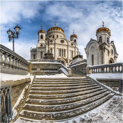 Храм Христа Спасителя в Москве - Russia