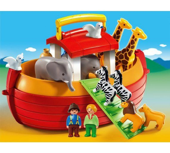 Buy Playmobil 6765 123 Noah's Ark Playset at Argos.co.uk, visit Argos.co.uk to shop online for Baby bath toys and books, Baby baths and accessories, Bathing and changing, Baby and nursery