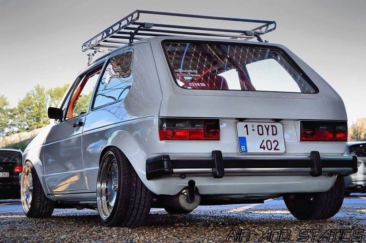 Vw Golf Mk1 Stanced Sweet Rides Amp Car Culture