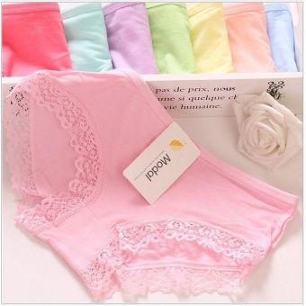 10x Super Stretchable Soft Bamboo Anti-odour Lace Panties-LOWEST PRICE CLEARANCE SALE