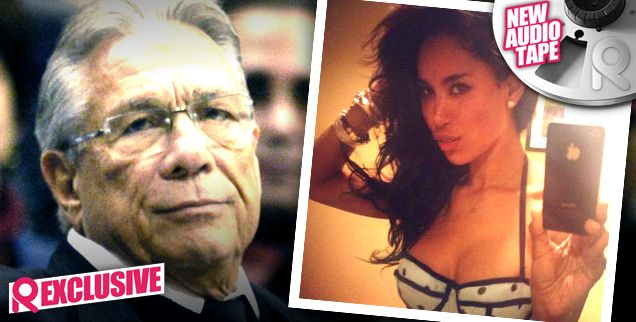 Donald Sterling's Pathetic Racism Excuse Revealed In Second Secret Recording: I Was Just 'Jealous' & 'Trying To Have Sex With' V. Stiviano!...