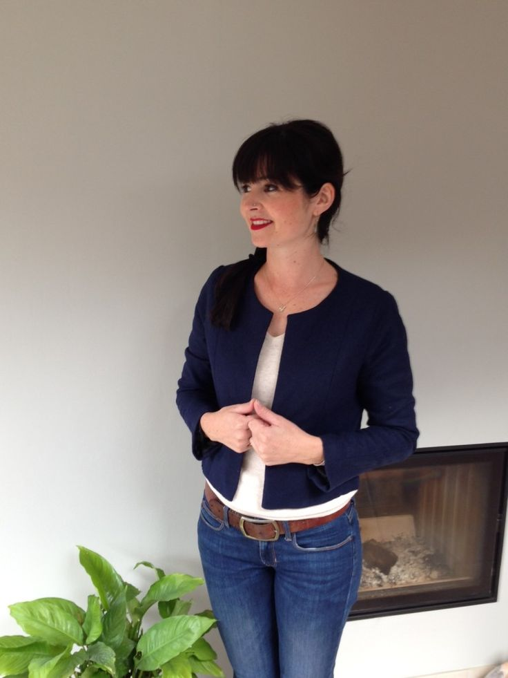 Sew Over it blog | Coco Jacket in wool -