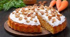 Receta de Torta de zanahoria esponjosa, liviana y muy rica. Como hacer una Torta de zanahoria esponjosa casera. Torta de zanahoria esponjosa, riquisima.