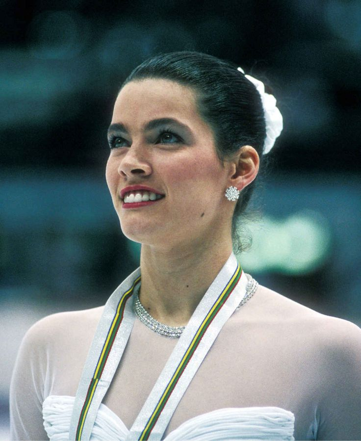 Figure skater Nancy Kerrigan won a silver medal at the 1994 Olympics despite an earlier attack by the ex-husband of rival Tonya Harding. Learn more at Biography.com.