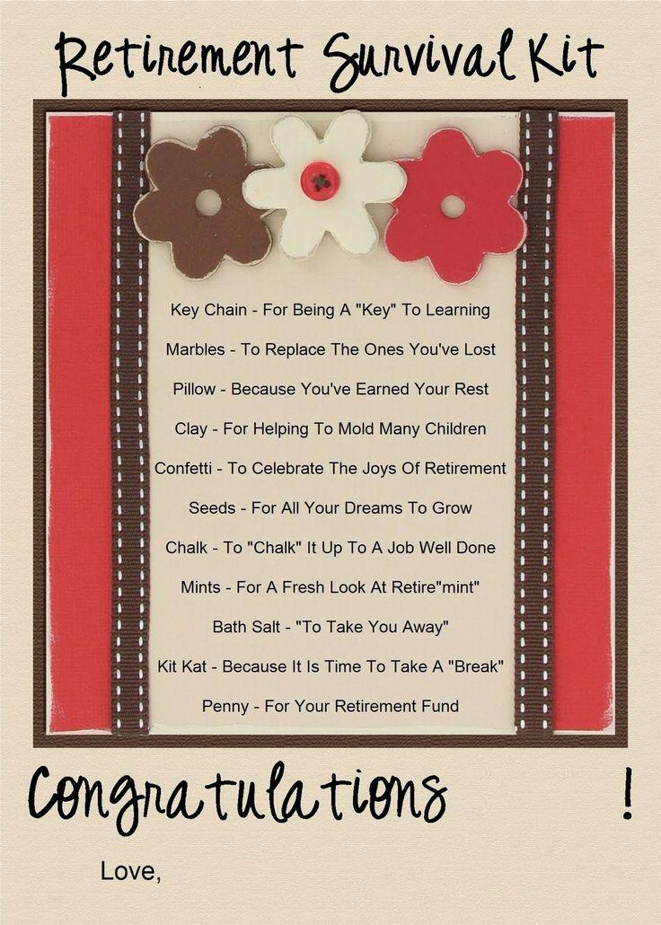 52 best images about Retirement Poem on Pinterest   Retirement ...