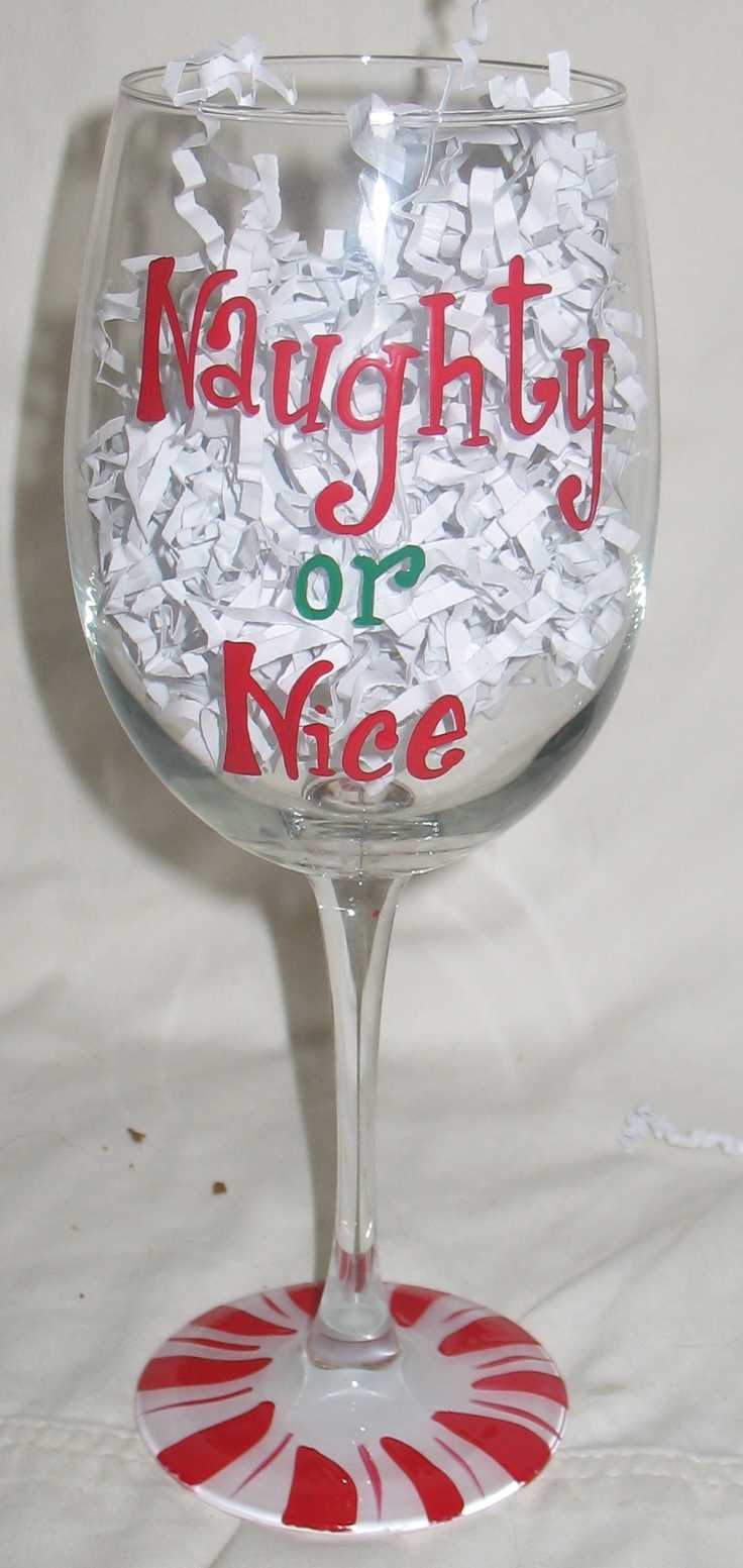 26 best wine glasses images on pinterest hand painted for Hand painted wine glass christmas designs