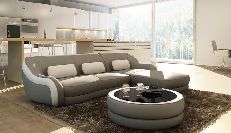 Designer Ledersofa Ecksofa Polster Eck Couch Sitz Eck L Form Garnitur Sofa Neu Ledersofa Ecksofa Couch