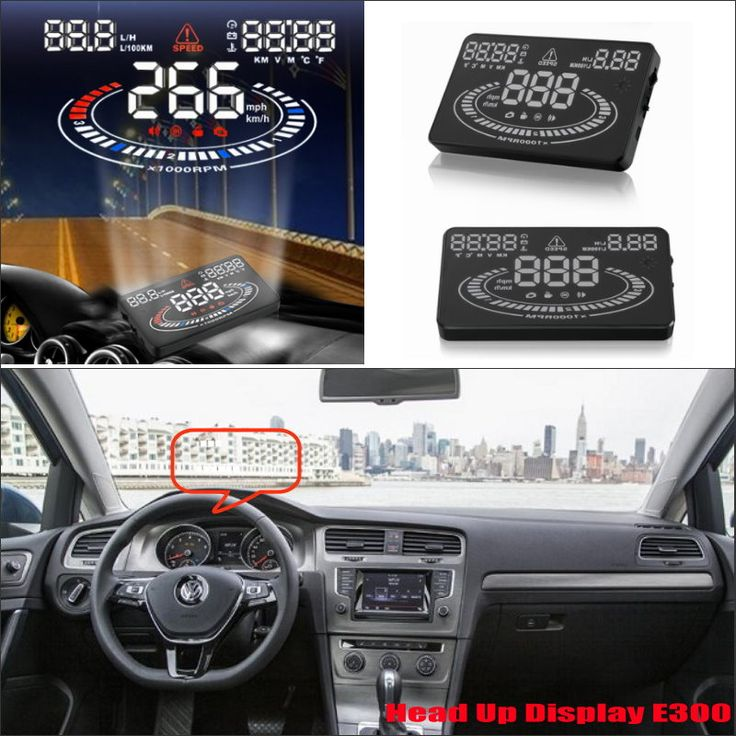 For Volkswagen Golf GTI / Jetta 2015 2016 Car Head Up Display Saft Driving Screen Projector - Refkecting Windshield