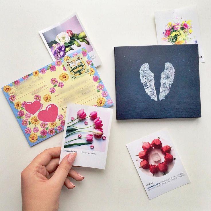 Как же приятно подготавливаться к самому романтичному празднику под волшебно-влюблённую музыку Coldplay. А смотря на фотографии цветов поднимается настроение Подготовила маленькие подарочки хорошим друзьям и написала любимому Максимке/ @mr_eleganto письмо.... А что Вам дарит вдохновение?  #Россия #Барнаул #письмо #письма #letter #letters #cd #coldplay #coldplayghoststories #ghoststories #collectioncd #boft #boft_siberia #flowers #взаимныелайки #flower #photoflower #heart…