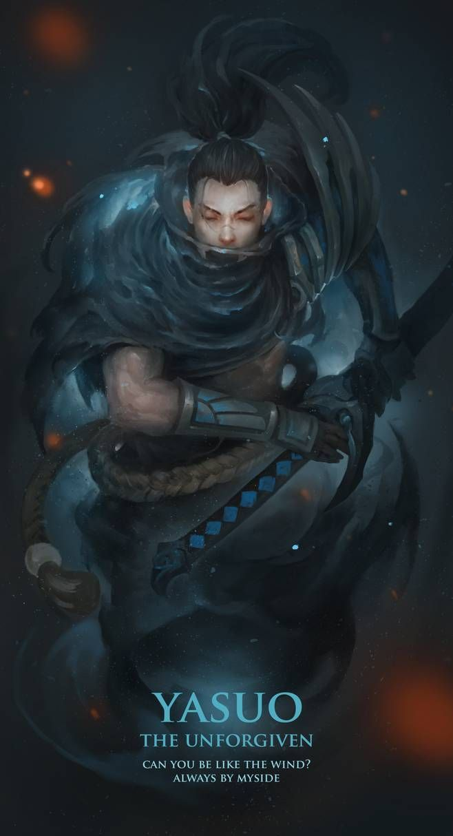 Yasuo The Unforgiven By Leekent On Deviantart Lol Engracado