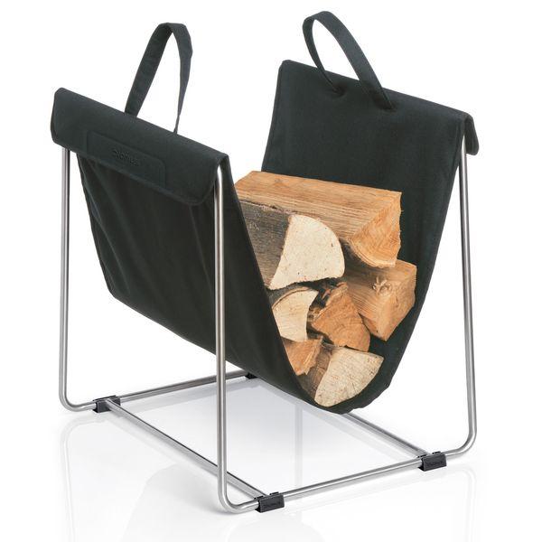 Blomus - Madra Log Basket - Lekker Home - 1