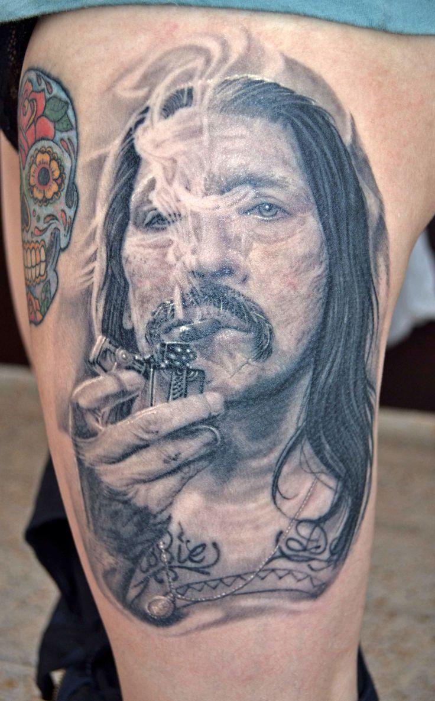 Machete tattoo By italo esquivel