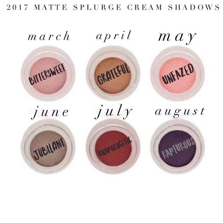 Splurge Cream Shadows www.youniquelya.con
