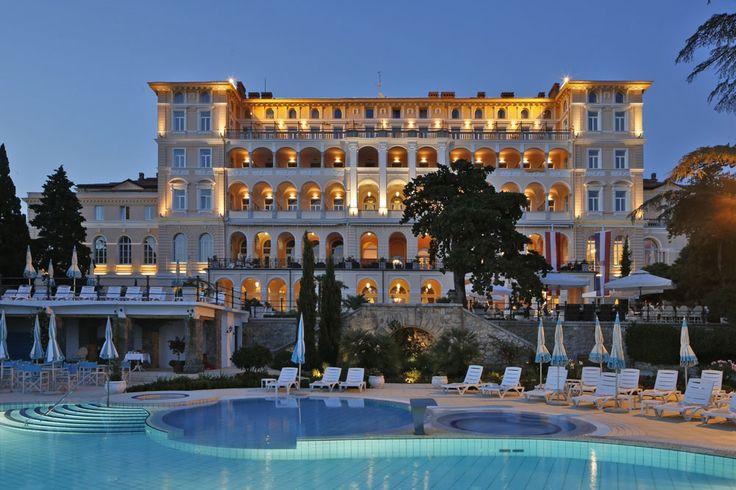 9 best istrien kroatien grand hotels images on pinterest for Kroatien designhotel