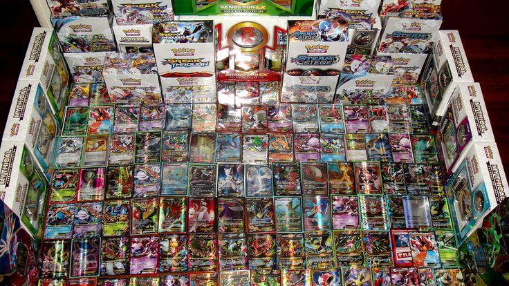 Pokemon 100 Card Premium Lot GUARANTEED Mega / Full Art / Secret EX GX  1 Pack