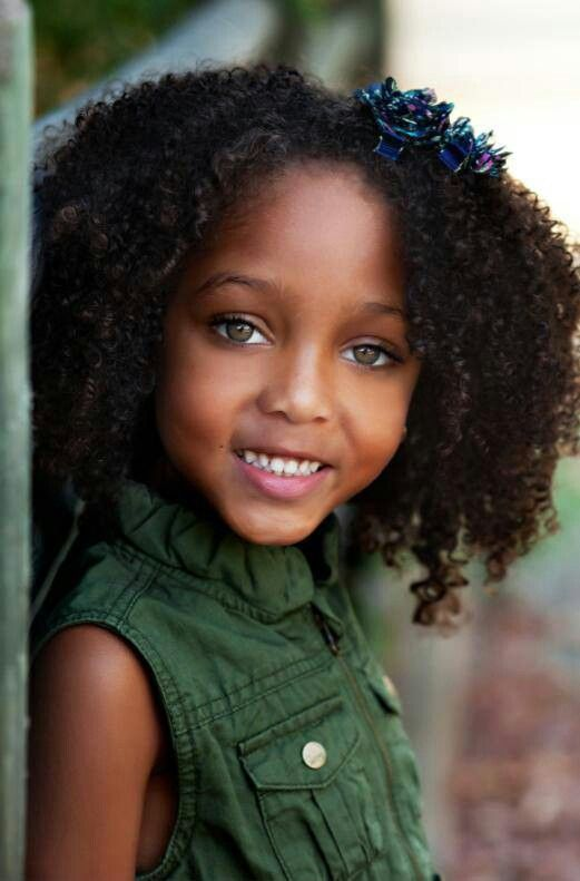 beautiful | curly hair | natural hair kids | black kids | daughter