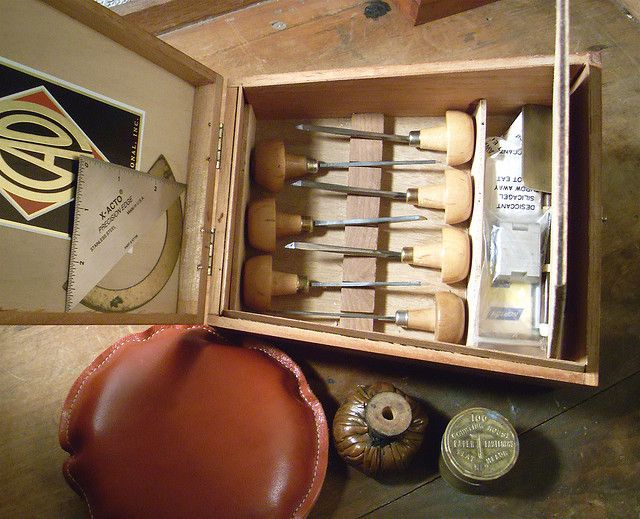 Wood Engraving Tool Box 4 | Flickr - Photo Sharing!