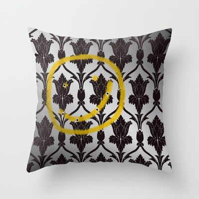 Sherlock throw pillow case by Mary Rath - $20.00