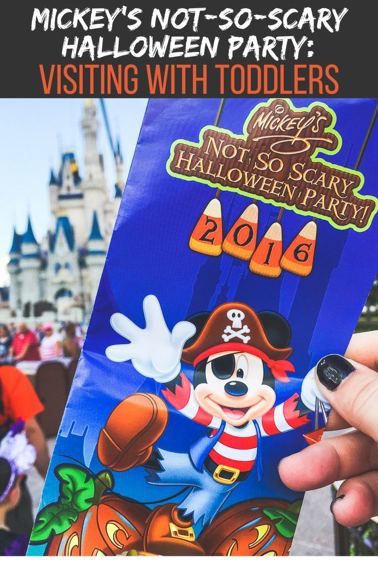 mickey's halloween party admission