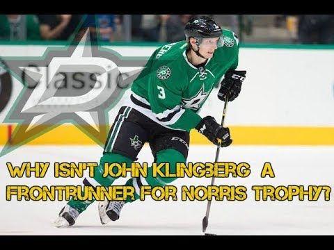 John Klingberg should be a frontrunner for Norris Trophy