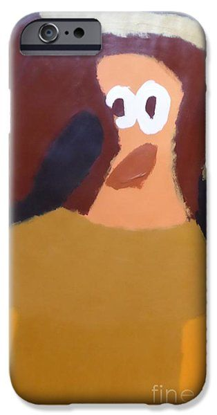 IPhone Case featuring the painting Portrait Of Marianna Of Austria 2015 - After Diego Velazquez by Patrick Francis