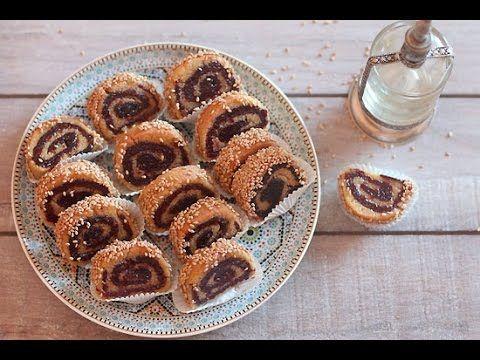 Makroute roulé aux dattes - Blog cuisine marocaine / orientale Ma Fleur d'Oranger / Cuisine du monde /Recettes simples et cratives