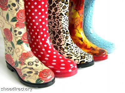 Designer Galoshes