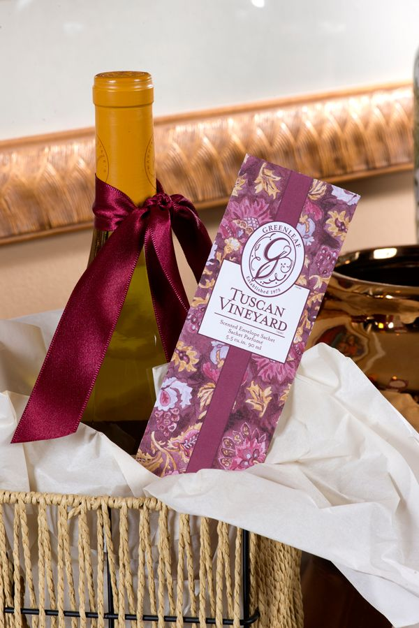 Greenleaf sachets make excellent hostess or house warming gifts! #101waystosachet