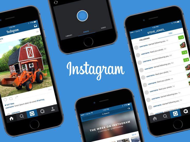 Instagram iOS Template