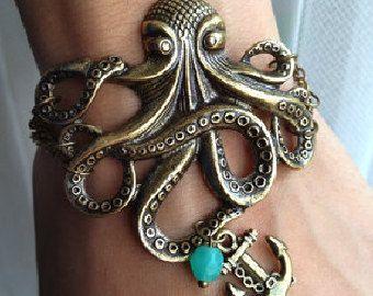 со octopus медальон знаком