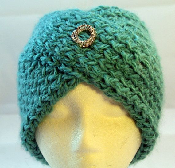 Head band hand knitte with alpaca wooland a by WoollyLoveHome