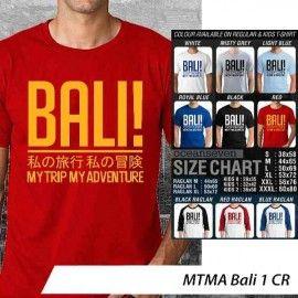 T-Shirt MTMA #Bali 1 CR