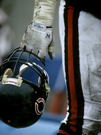 NFL Historical Imagery: ,  - Bears Helmet Photographic Print