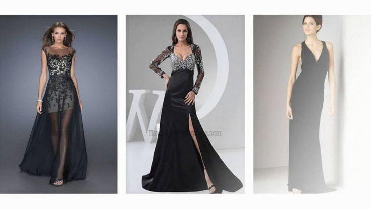 Abendkleider lang schwarz mit spitze. in 2020 | Abendkleid ...