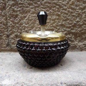 cenicero cristal burbujas vintage ideas regalos originales decoración deco mementosbcn