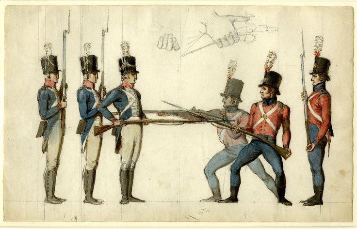 Major Anthony Gordon And The Development Of Bayonet Fencing In The British Isles 1740 1820 Historical Artwork Bayonet British Isles