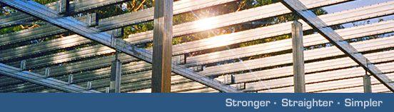 Spantec Steel Flooring Systems; Bearers, Joists, Rafters & Steel Piers