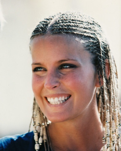 "Bo Derek in ""10"" - 1979: I'll never forget all the women that suddenly broke out in corn rows! But mostly I remember Bo bouncing down the beach in slow motion! TAO"